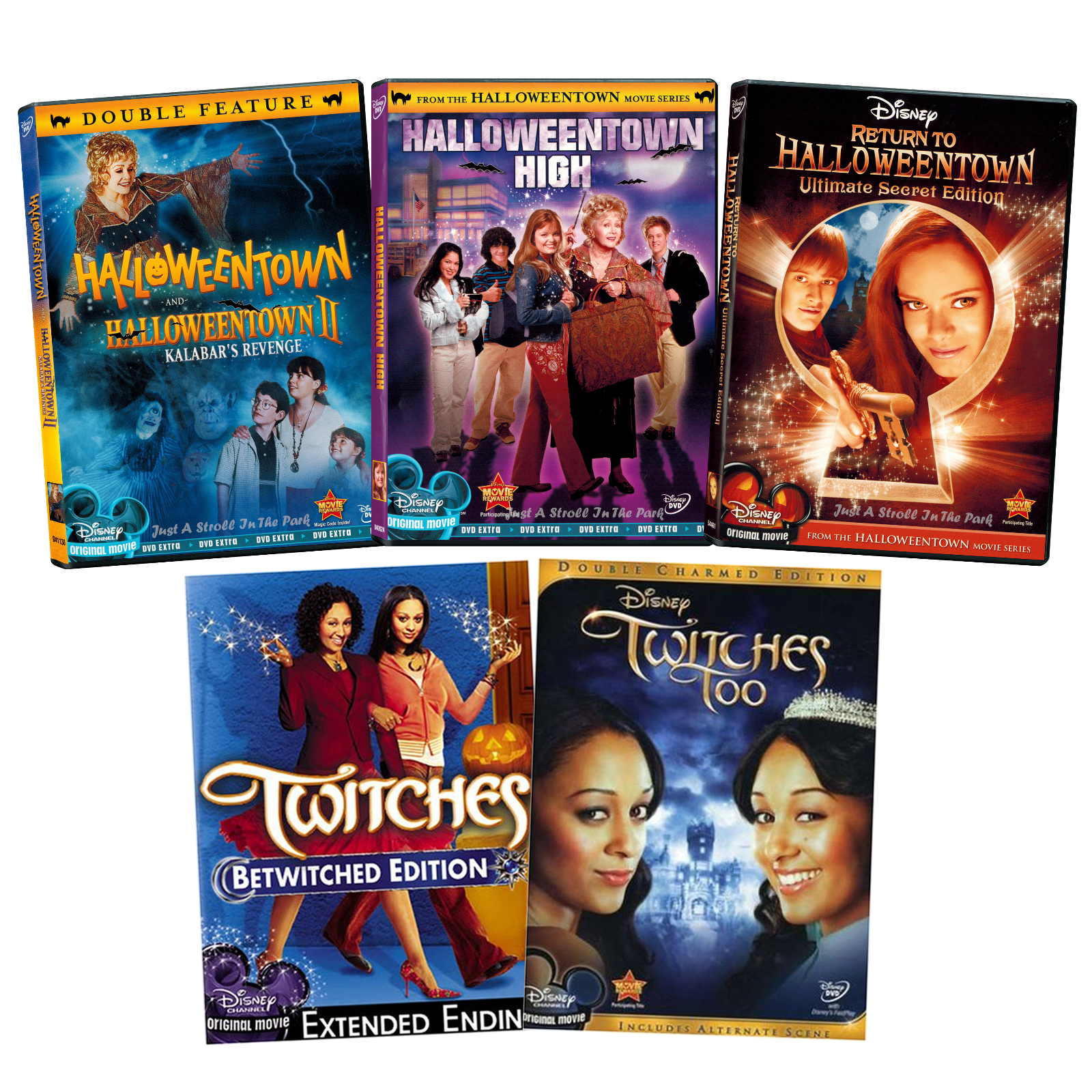 disney channel halloween movies twitches 1 2 halloweentown 1 4 boxdvd sets
