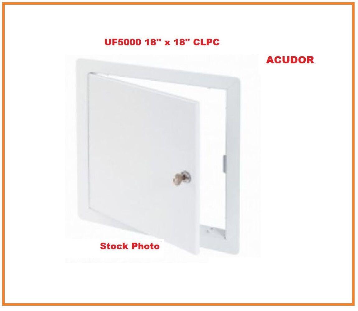 White Acudor UF-5000 Universal Access Door 16 x 16