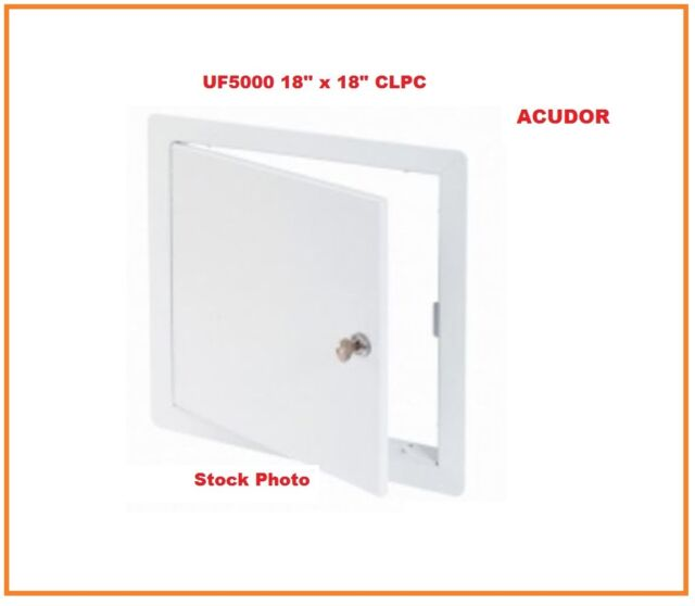 16 x 16 Acudor UF-5000 General Purpose Access Door With Lock /& Key