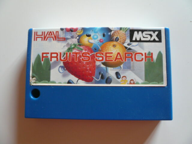 Msx game-fruits search-be