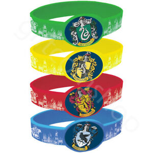 Harry-Potter-Silicone-Bracelets-Wristbands-Kids-Birthday-Party-Bag-Fillers-x-4