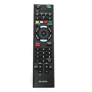 rm yd075 replace remote for sony bravia tv kdl 40ex640 kdl 50ex645 rh ebay com Switch On Sony Bravia XBR Sony BRAVIA Connection Diagram