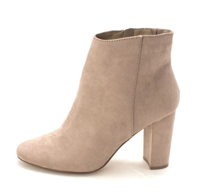 Material Girl Women CAMBRIE Closed Toe Suede Fashion Boots Grey Size