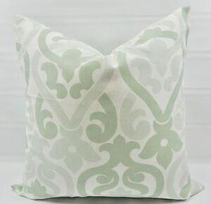 Light Sage Green In Alex Artichoke Print Pillow Cover Covercotton