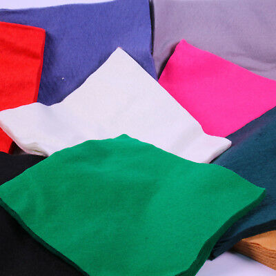 Felt Squares Crafts Super Soft Acrylic Multipack A4 Sheets Felting Multicolour