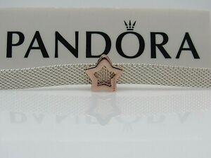 New w/Box REFLEXIONS Pandora ROSE Star Clip Charm #787544 | eBay