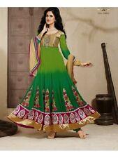 Indian Pakistani Latest Bollywood Anarkali Designer Dress Shalwar Kameez Suit