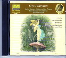 (EI957) Lehmann: The Daisy Chain, Bird Songs, Four Cautionary Tales - 1997 CD