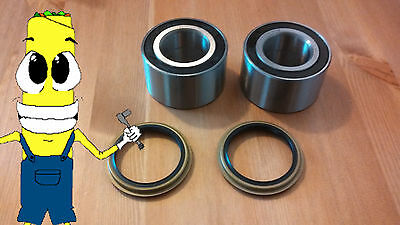 Mazda Protege Front Wheel Hub Bearing and Seal 1990-2003 PAIR