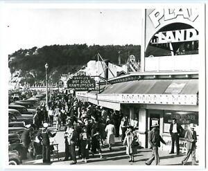 1925 FAMOUS EXCELSIOR PARK DANCE HALL OLD AMUSEMENT PARK PHOTO CLOWN ENTRANCE MN