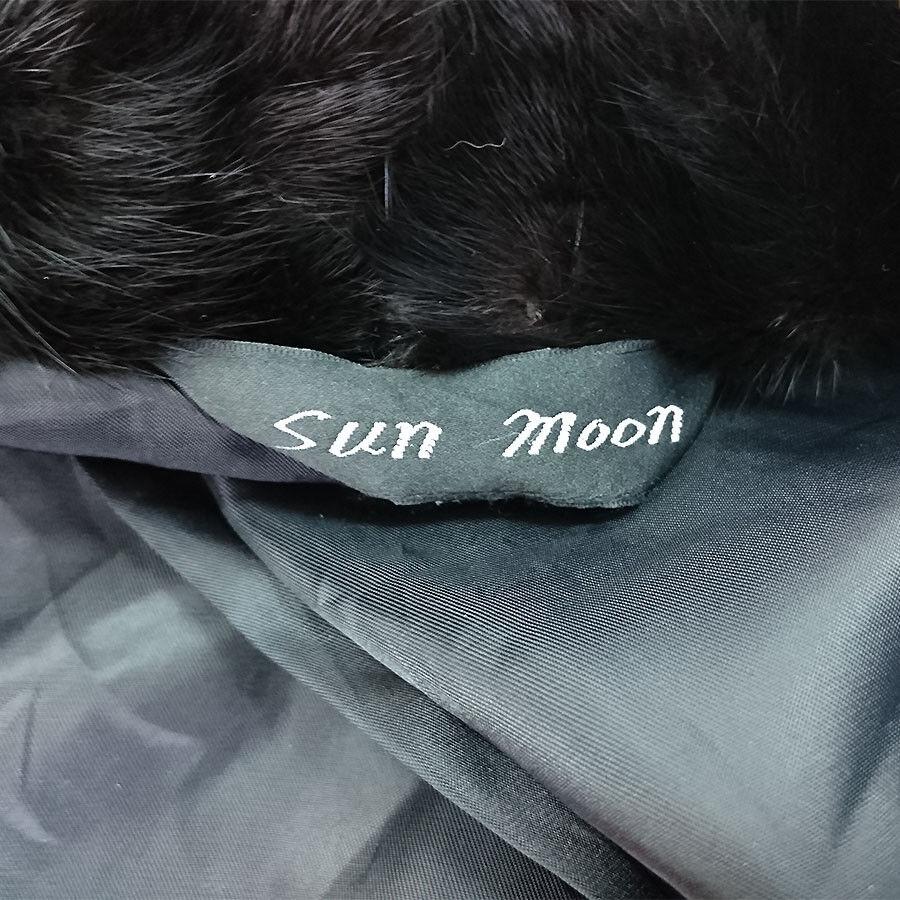 GILET VINTAGE DONNA IN IN IN PELLICCIA DI VISONE SUN MOON ART.7281 78ef93