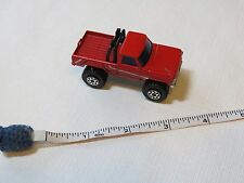 Matchbox truck 4X4 pick up 1981 vintage RARE 1:67 Lesney England red roll bars