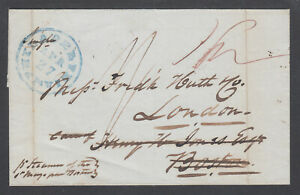 US-1841-Stampless-PHILADELPHIA-LONDON-Henry-H-Jonas-Boston-Forwarding-Agent