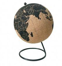 Cork Board Globe Map Black And Beige Office Decor Supplies