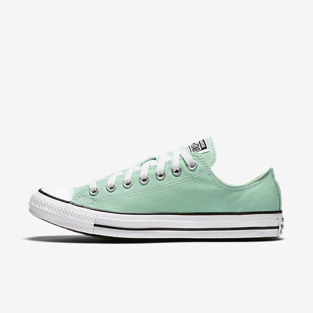 695b6a19312 Converse Chuck Taylor All Star Canvas Beach Glass Seafoam Low Top Size 11  13 for sale online