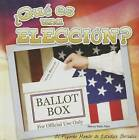 Que Es Una Eleccion? (What's an Election?) by Nancy Kelly Allen (Hardback, 2015)