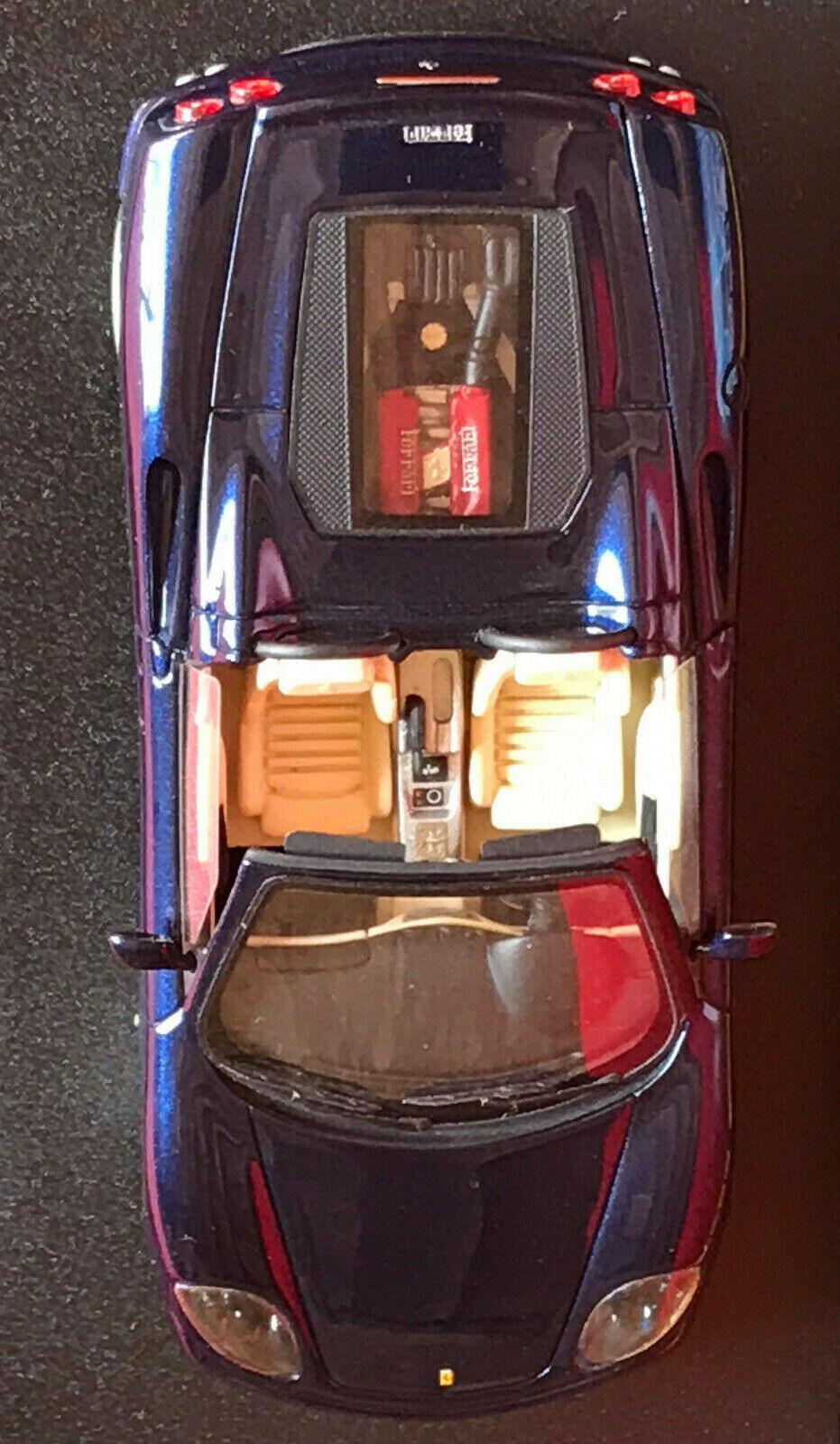 FERRARI  360 Modena Spyder Spider 2000   BBR 1 43  BBR136A  bleu Mica  RARE