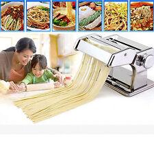E-rápido Pasta Hacedor máquina de rodillos con 4 Cortadores & Bonus Ravioles viene