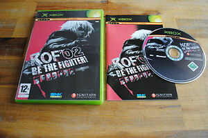 Jeu-KOF-039-02-KING-OF-FIGHTER-2002-pour-XBOX-CD-remis-a-neuf-PAL-VF