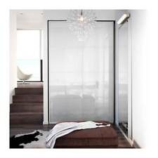 IKEA Pax Wardrobe Frosted Glass White Frame Sliding Doors 236cm X