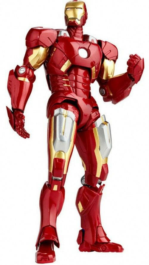 Legacy of Revoltech Iron Man Action Figure LR-041 [Mark VII]