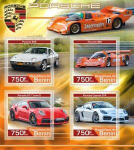 Stamps sports cars Porsche