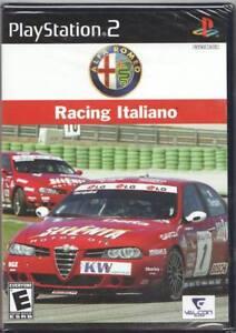 Video Game Sony Playstation 2 Alfa Romeo Racing Italiano