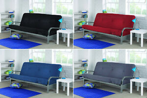"""Full Futon 6"""" Mattress Set Day Bed Couch Sofa Recliner Sleeper Pull Out Folding"""
