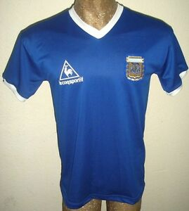fc69b816e85 Image is loading RETRO-VINTAGE-ARGENTINA-WORLD-CUP-1986-MARADONA-10-