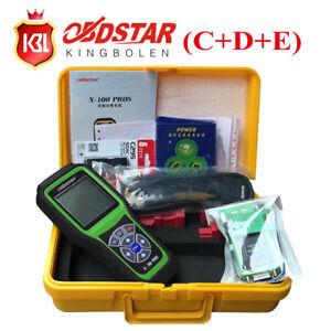 Details about OBDSTAR X-100 Pros C+D+E Auto IMMOBILISER + Od0meter Reset  +OBD EEPROM Tool