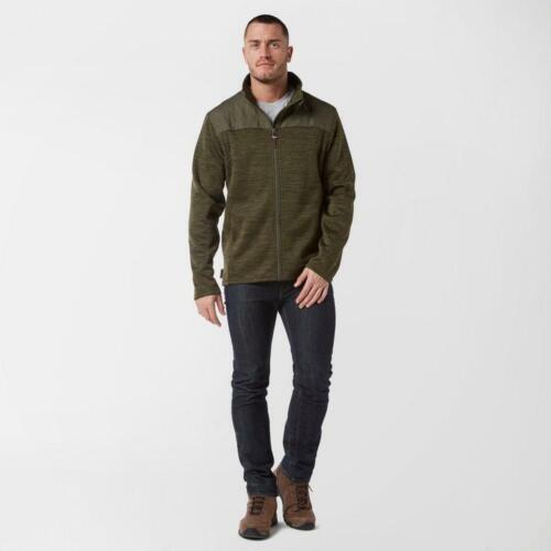 New Brasher Men's Quilted  Adventurer Long Sleeve Fleece