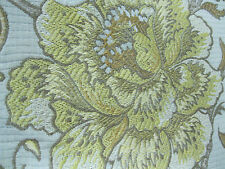 RM Coco Fabric Pattern A0031 Italian Straw Upholstery 24 In x 53 In Jacquard