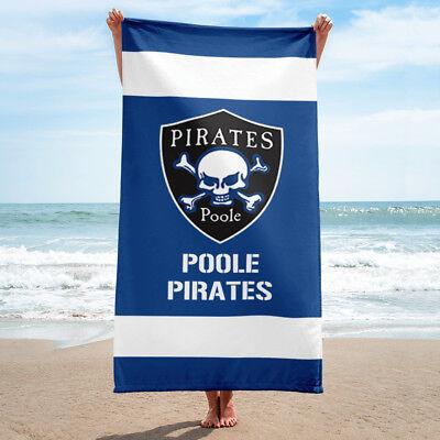 Poole Pirates Speedway Team Super Size Beach Towel