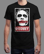 Joker-disobey nuevo camisa tshirt té l New Dark Knight Batman Arkham Gotham obey