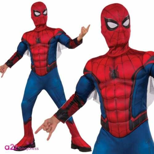Amazing Spider-Man Kids Boys Superhero Marvel Movie Child Fancy Dress Costume