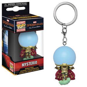 Poche-Pop-Spider-Man-Far-de-Maison-Mysterio-Porte-Cles-Figurine