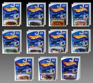 Hot-Wheels-Collection-1999-2001-Mattel-Die-Cast-1-64-Bitte-Auswaehlen-NEU-OVP