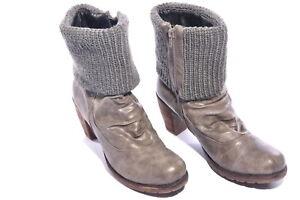 Rieker Boots Stiefel Stiefeletten ~ Gr. 41 ~ schwarz warm