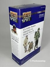 "BBi Elite Force WWII 12"" US Army RADIO Man ""SPARKY"" #21263 - 1:6  MIB, NEW!, NOS"