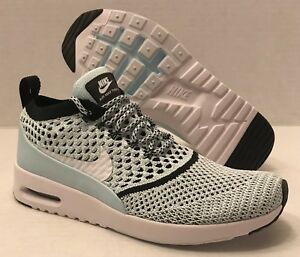 Details about NIKE WMNS AIR MAX THEA ULTRA FK FLYKNIT 881175 400 GLACIER BLUE (WOMEN'S 8.5)