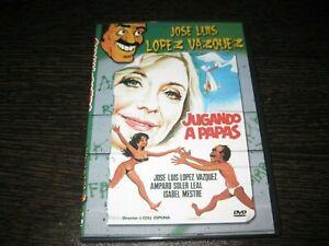 Gioca A Papas DVD Jose Luis Lopez Vazquez Amparo Soler Loyal Sigillata Nuovo