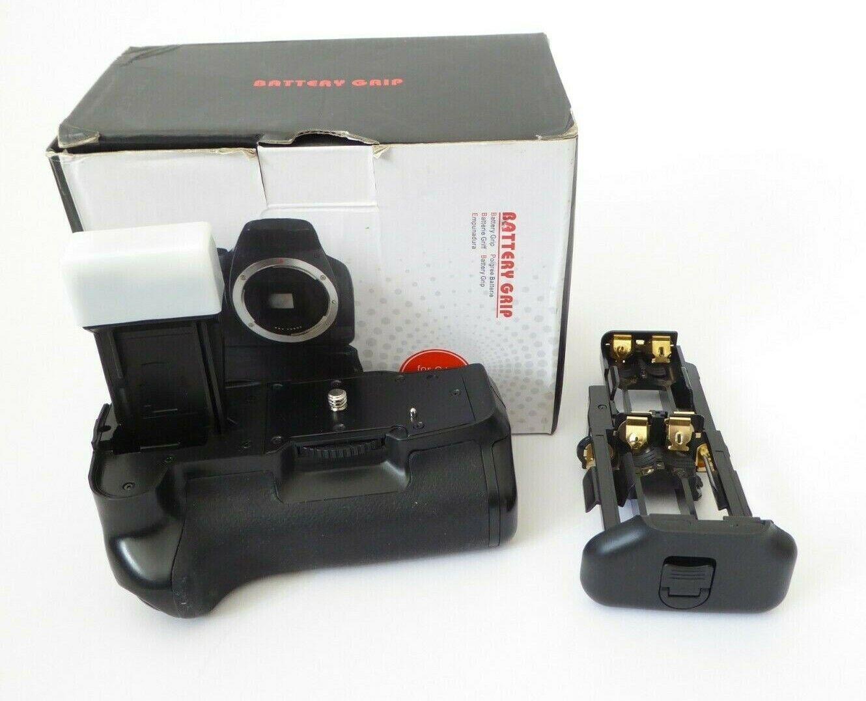 Battery Grip For Canon EOS 550D & 600D D-SLR Cameras