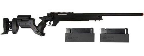Well AWM Bolt Action Airsoft Sniper Rifle with 2 Magazines