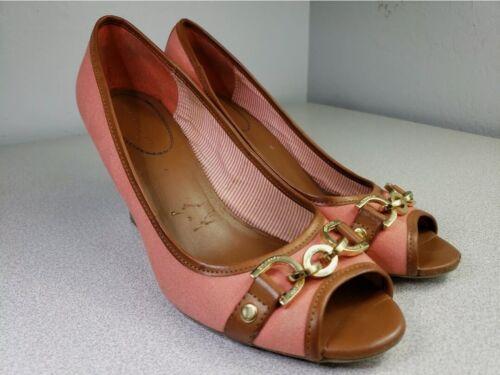 Tommy Hilfiger Sz 9 M Womens 'Tawnisha' Peep Toe … - image 1