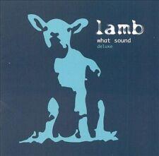LAMB - What Sound [Deluxe Edition[ (CD+DVD, 2003, Original 1st Press, KOCH)