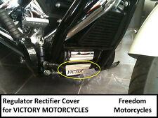 Victory Motorcycles - Regulator Rectifier Cover... Stainless Steel... Custom