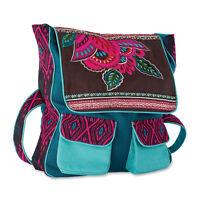 Backpack Teal & Pink Floral Southwest Floral Brave Girl Melody Ross Great Gift