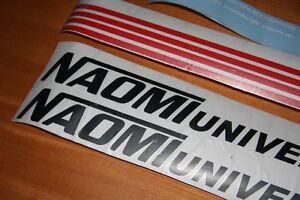 Custom-Sega-Naomi-pegatinas-Universal-Gabinete-Lateral-Arte-Metal-Plata
