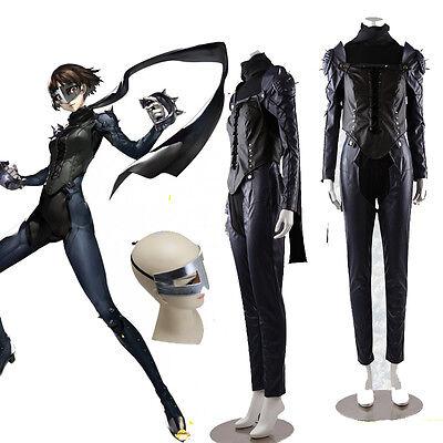 Anime Game Persona 5 Queen Makoto Niijima Cosplay Cotumes Uniform Full Set S-XL