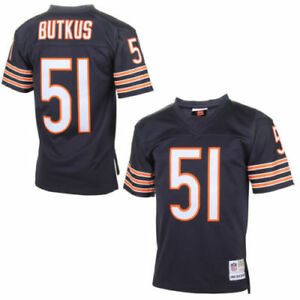 9a5c4dac4 Mitchell   Ness Dick Butkus Chicago Bears NFL Throwback Premier ...